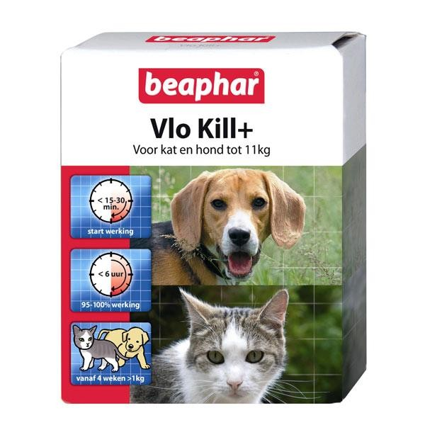 Beaphar Vlo Kill (kat en hond tot 11 kg)