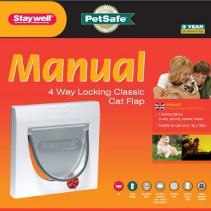 Staywell 919 Manual 4 Way Locking Katzenklappe