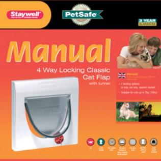 Staywell 917 Manual 4 way locking Catflap