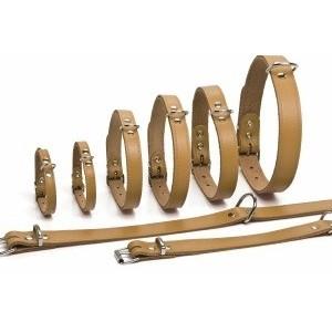 Leren Halsbanden 57 cm voor de hond