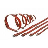 Leren Halsbanden 47 cm voor de hond