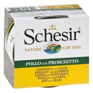 Schesir Huhn mit Schinken Hundefutter nr. 683