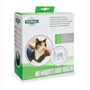 Staywell Manual Deluxe 4 Way Locking Katzenklappe