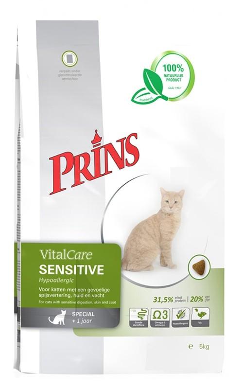 Prins VitalCare Sensitive Hypoallergenic Katzenfutter