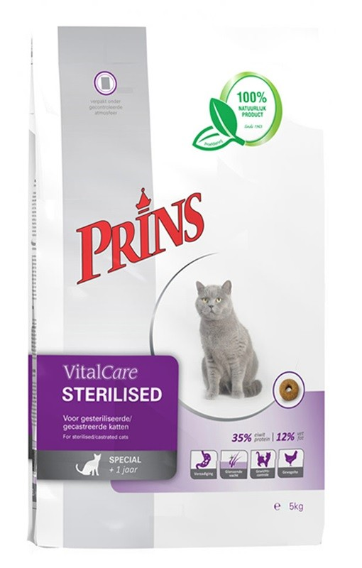 Prins VitalCare Sterilised Katzenfutter