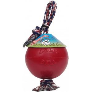 Jolly Ball Romp & Roll Medium - mit Strick