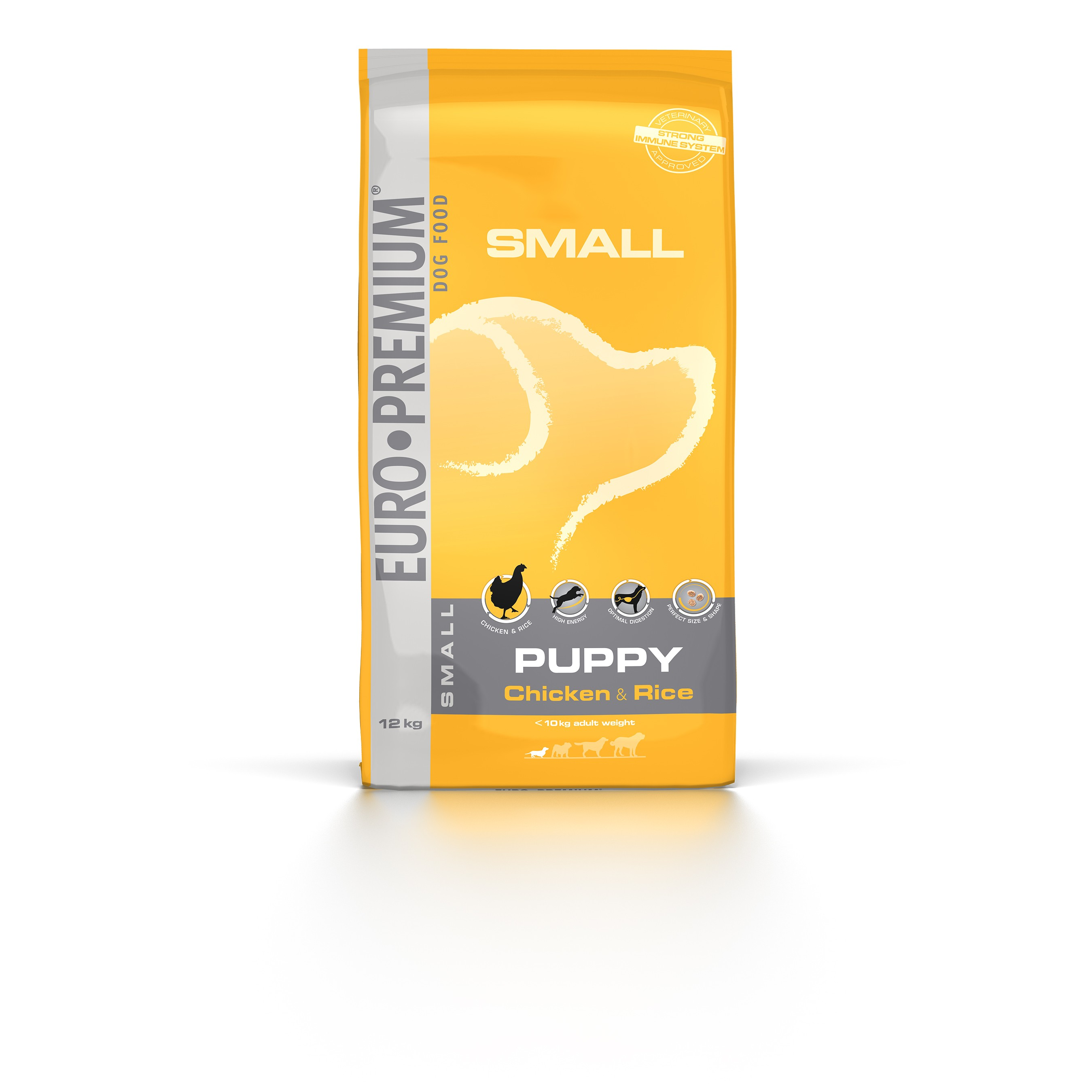 Euro Premium Small Puppy Huhn & Reis Hundefutter