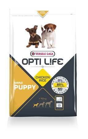 Opti Life Puppy Mini Hundefutter mit viel Huhn&Reis