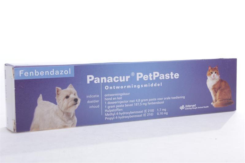 Panacur PetPaste Wurmkur für Hunde und Katzen