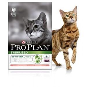 Pro PlanSterilised mit Lachs & Reis Optirenal Katzenfutter