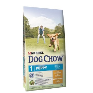 Dog Chow Puppy Huhn Hundefutter