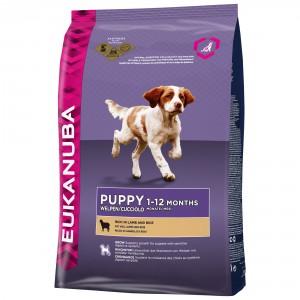 Eukanuba Puppy mit viel Lamm & Reis Hundefutter