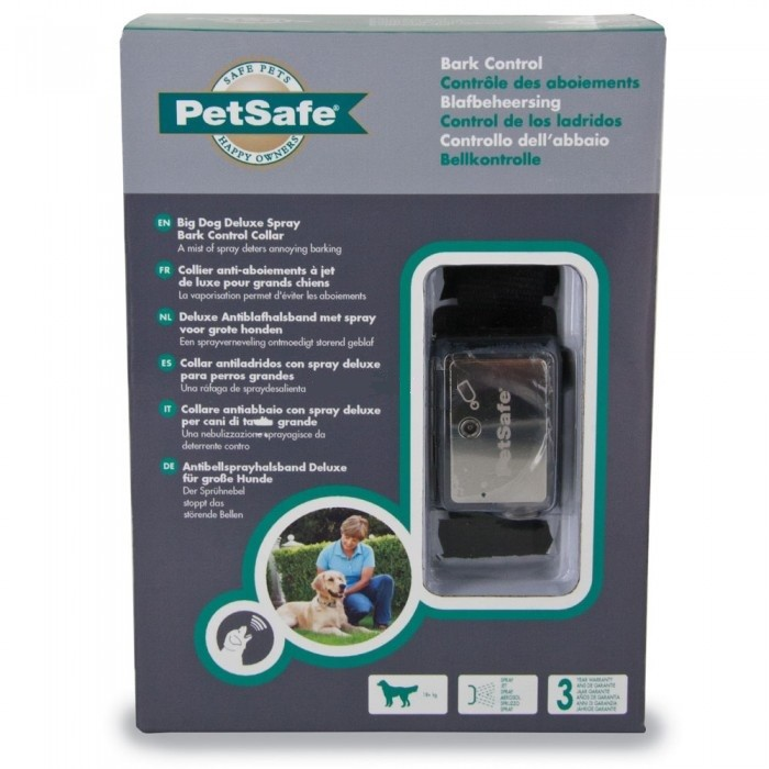 Petsafe Big Dog Deluxe Spray Bark Control Halsband