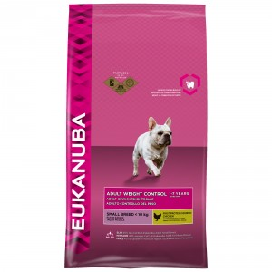 Eukanuba Adult Weight Control Small Hundefutter Huhn