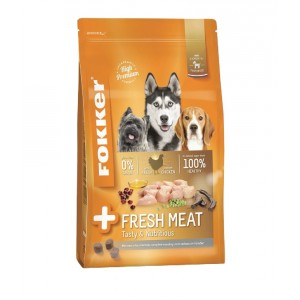 Fokker Adult +Fresh Meat Hundefutter