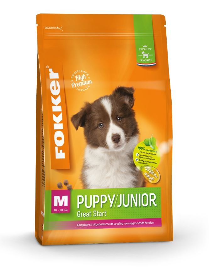 Fokker Puppy/Junior M Hundefutter