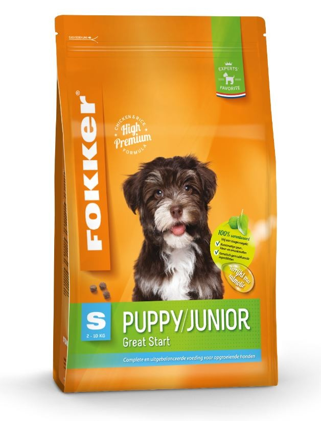 Fokker Puppy/Junior S Hundefutter