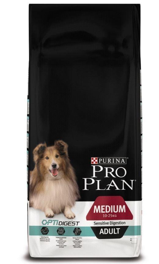 Pro PlanAdult Medium Sensitive Digestion Optidigest Hundefutter