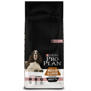 Pro Plan Medium/Large Adult 7+ Sensitive Skin (Senior) Optiderma Hundefutter