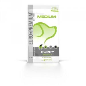 Euro Premium Medium Puppy Derma+ Lachs & Reis