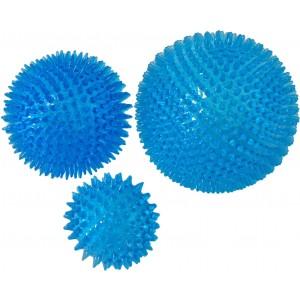 Schwimmender Ball mit Stacheln blau