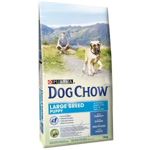 Dog Chow Puppy Largebreed Hundefutter