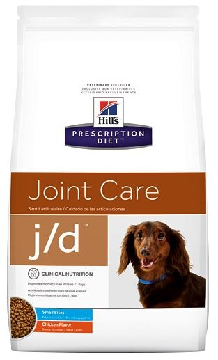 Hill's Prescription Diet J/D Mini Joint Care Hundefutter