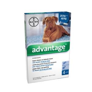 Advantage Nr. 400 Flohmittel (ab 25 kg) Hund