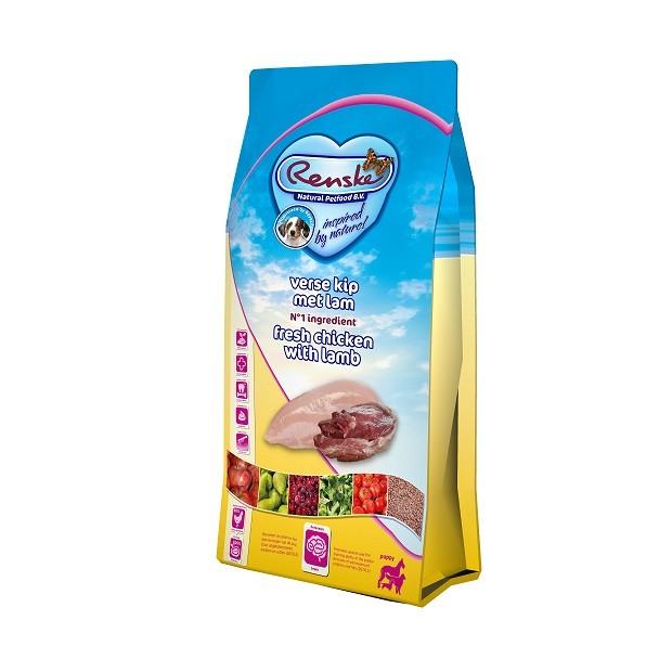 Renske Super Premium Huhn & Lamm Welpenfutter