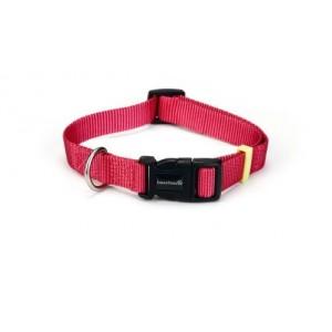 Beeztees Nylon Hundehalsband Uni Rosa