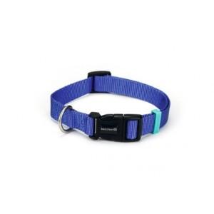 Beeztees Nylon Hundehalsband Uni Blau