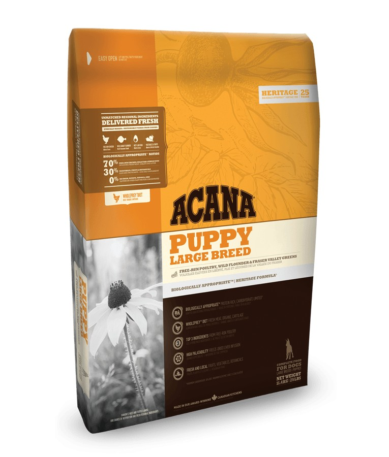 Acana Heritage Puppy Large Breed Hundefutter