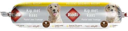 Rodi Wurst Huhn/Käse für den Hund
