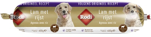 Rodi Worst Lamm & Reis für den Hund