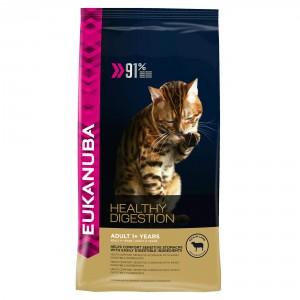 Eukanuba Adult Healthy Digestion mit Lamm und Leber Katzenfutter