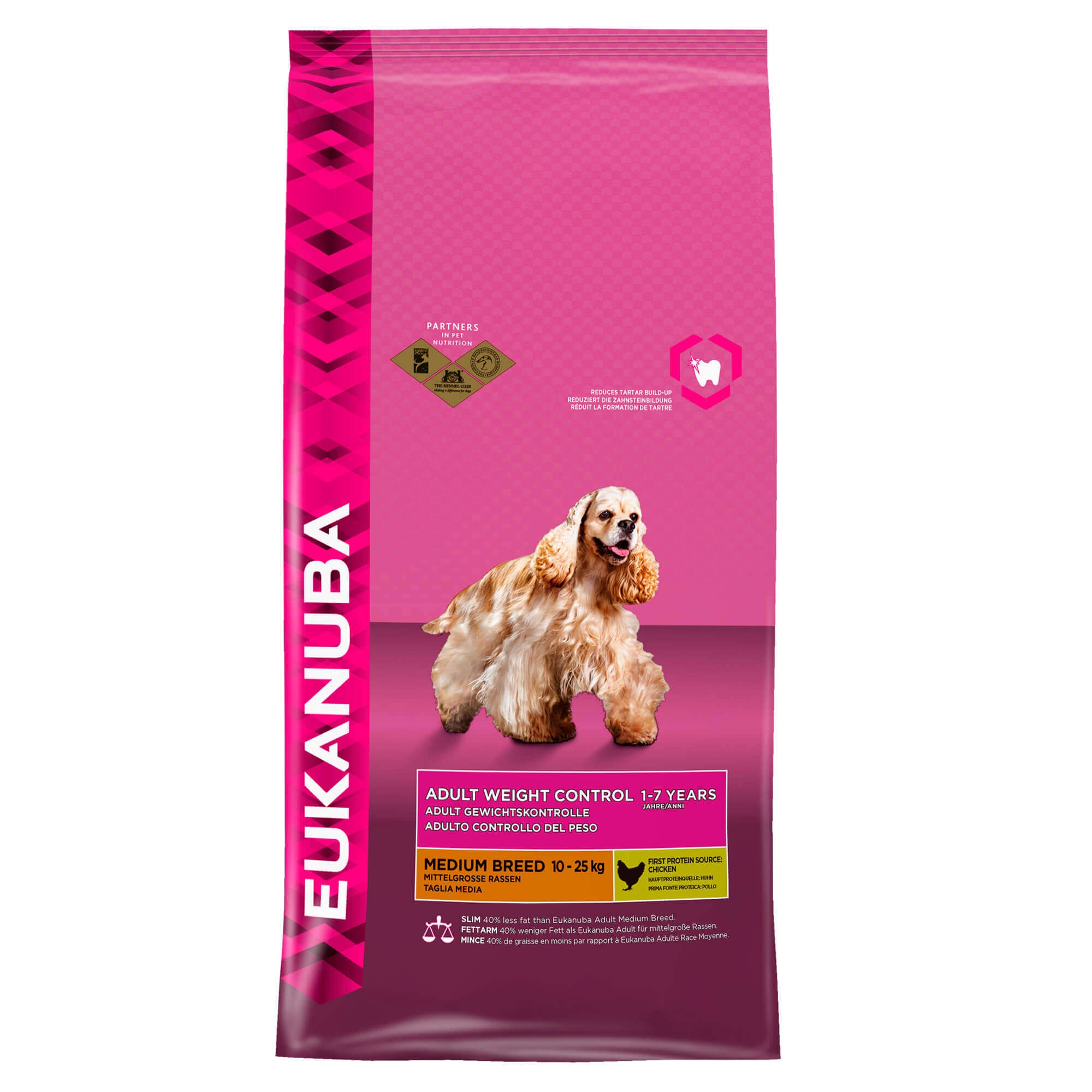 Eukanuba Adult Weight Control Mittelgroβe Rassen Hundefutter