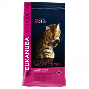 Eukanuba Adult Sterilised/Weight Control Katzen