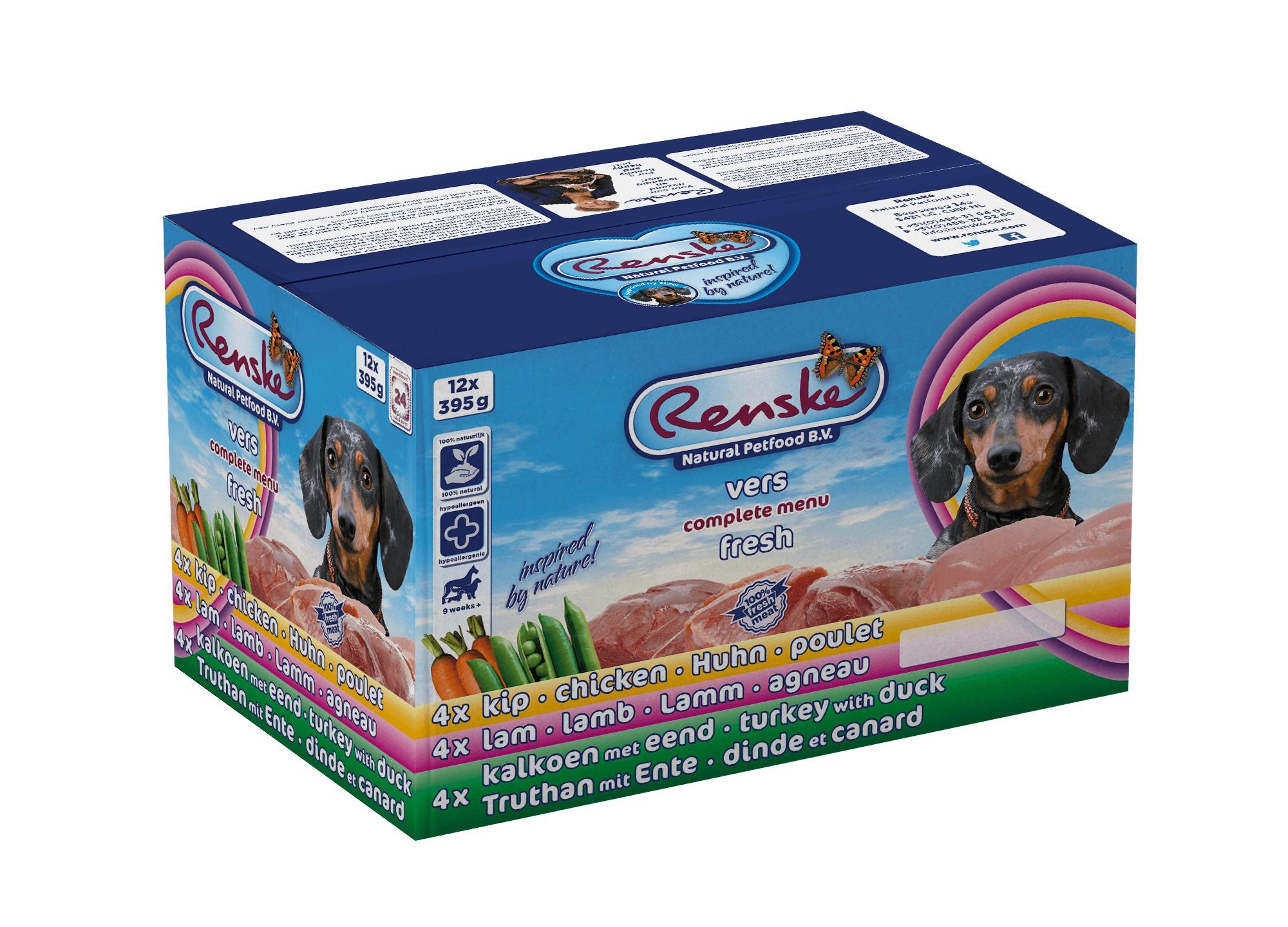 Renske Multidoos (12 x 395 g) Hundefutter