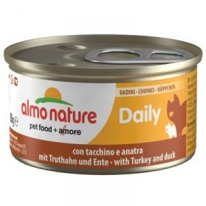 Almo Nature Daily Happen aus Truthahn & Ente 85 Gramm (150)