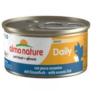 Almo Nature Daily Mousse mit Ozeanfisch 85 Gramm (152)