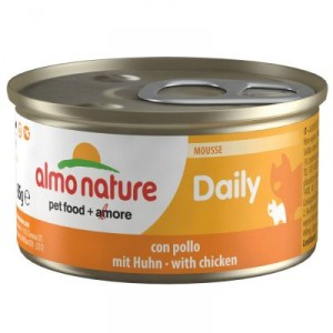 Almo Nature Daily Mousse mit Huhn 85 Gramm (153)