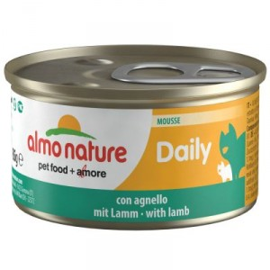 Almo Nature Daily Mousse mit Lamm 85 Gramm (155)