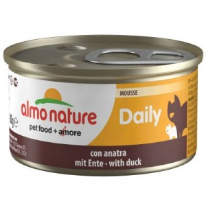 Almo Nature Daily Mousse mit Ente (156)