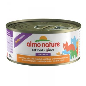 Almo Nature Daily Thunfisch & Huhn 170 Gramm (5301)