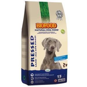 Biofood Lamm & Reis - Gepresstes Hundefutter