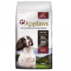 Applaws Adult Small & Medium Huhn und Lamm Hundefutter