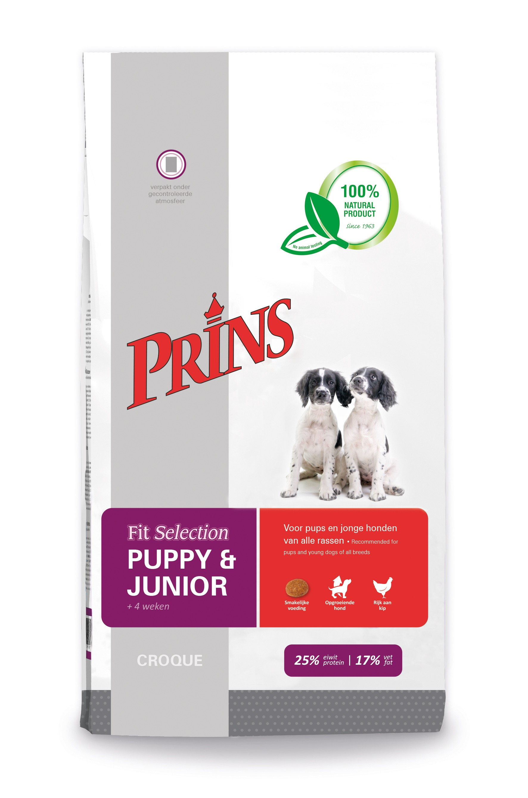 Prince Fit Selection Puppy & Junior Hundefutter