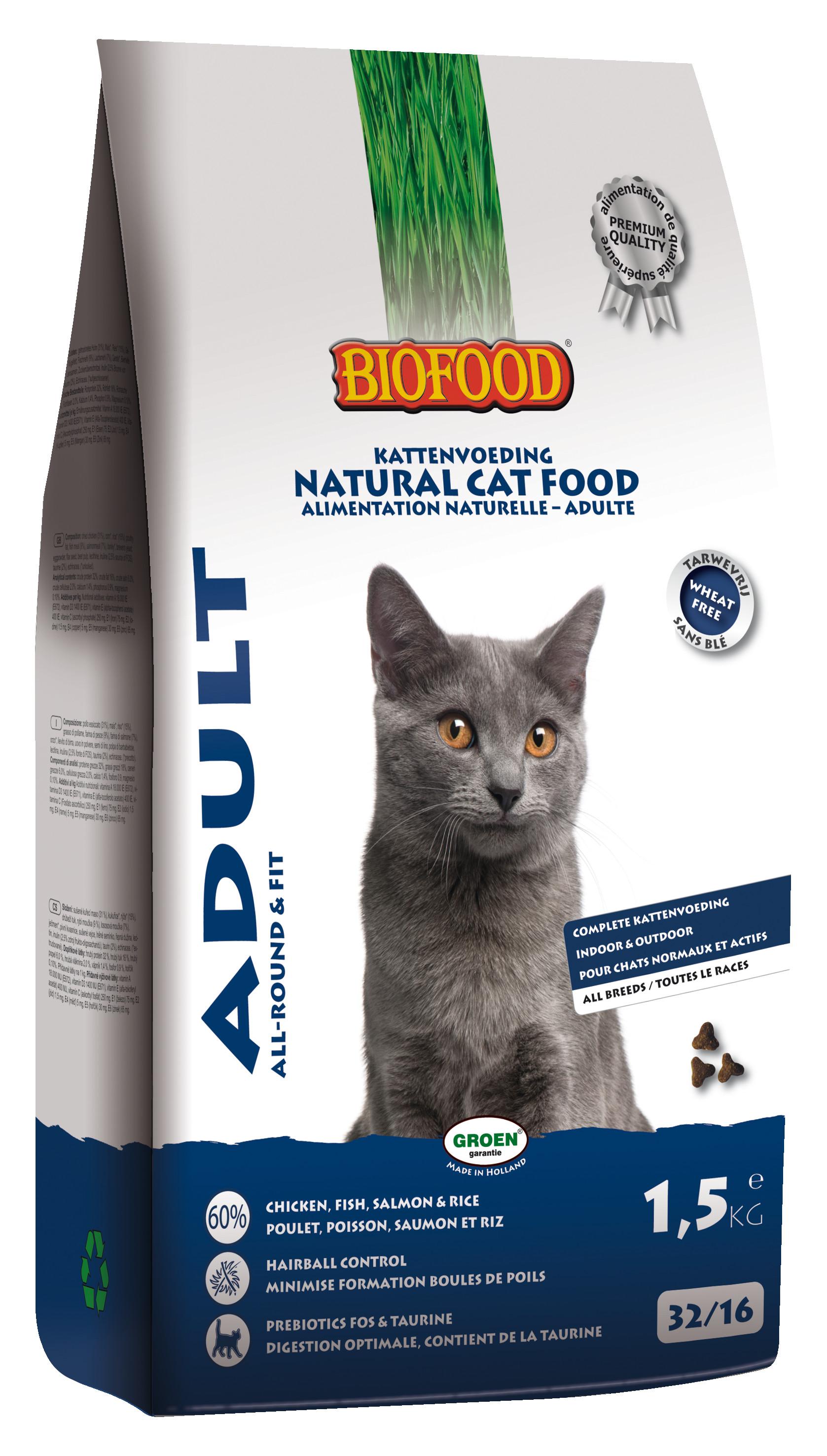 Biofood Adult Fit Katzenfutter