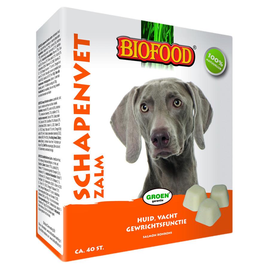 Biofood Schaffett Maxi Bonbons - Lachs