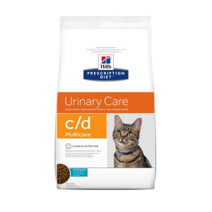 Hills Prescription Diet C/D Katzenfutter mit Seefisch